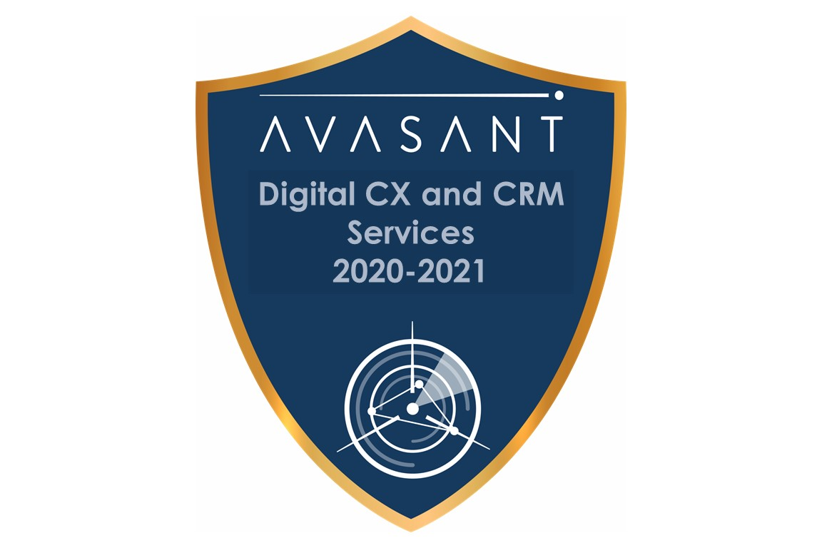 Digital CX and CRM Services 2020-2021 RadarView™ Image