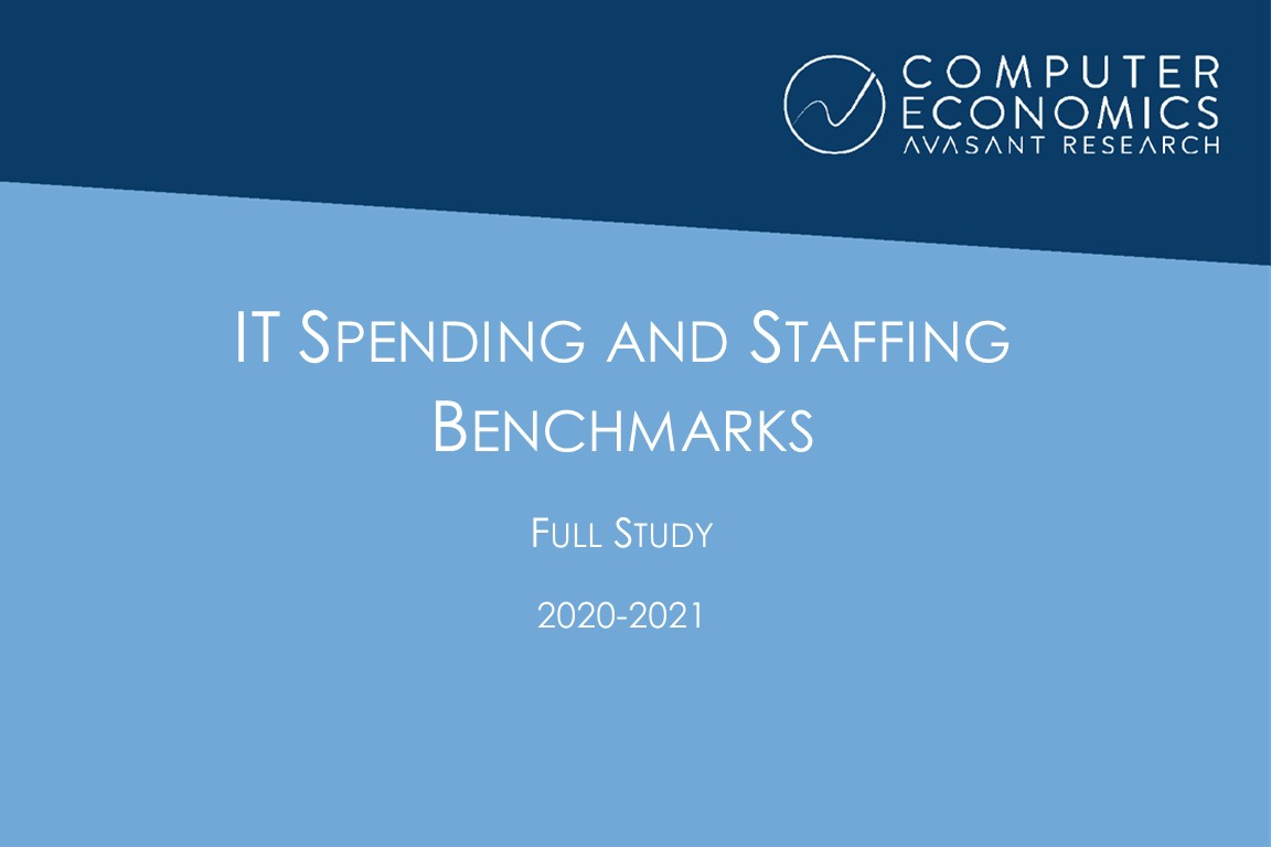 IT Spending and Staffing Benchmarks 2020-2021: Full Study Image