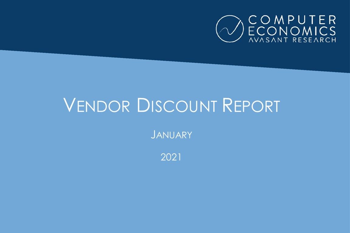 Vendor Discount Report – January 2021 Image