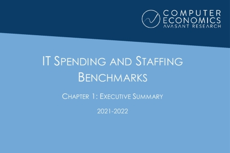 ISSCh01 450x300 - IT Spending and Staffing Benchmarks 2021/2022: Chapter 1: Executive Summary