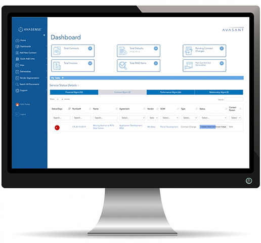 contract mgmt screen 1 2 - AvaSense™