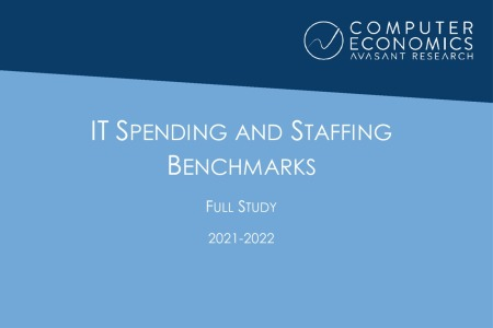 fullStudy 450x300 - IT Spending and Staffing Benchmarks 2021/2022: Full Study