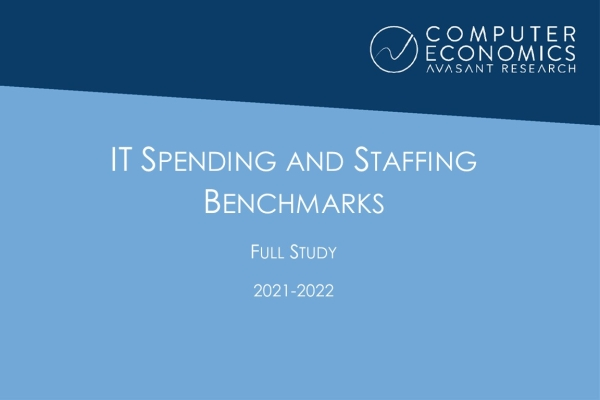 fullStudy 600x400 - IT Spending and Staffing Benchmarks 2021/2022: Full Study