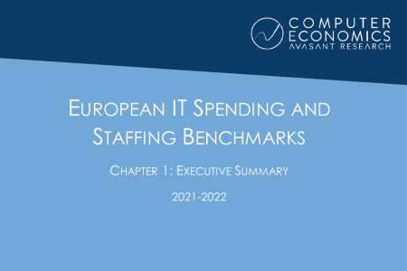EUISS2021Ch1 450x300 - European IT Spending and Staffing Benchmarks 2021/2022: Chapter 1: Executive Summary