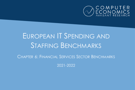 EUISS2021Ch6 450x300 - European IT Spending and Staffing Benchmarks 2021/2022: Chapter 6: Financial Services