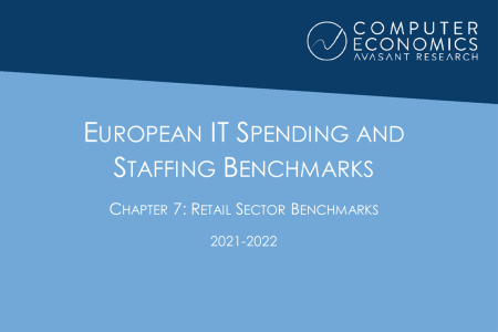 EUISS2021Ch7 450x300 - European IT Spending and Staffing Benchmarks 2021/2022: Chapter 7: Retail