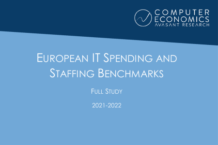 EUISS2021Full 450x300 - European IT Spending and Staffing Benchmarks 2021/2022: Full Study