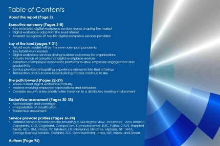 TOC Image Digital Workplace Services 2021 450x300 - Digital Workplace Services 2021 RadarView™