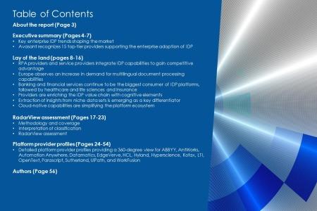 TOC IDP Platforms 2021 RadarView 450x300 - Intelligent Document Processing Platforms 2021-2022 RadarView™